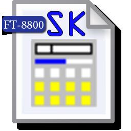 Export FT-8800 SK
